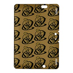 Abstract Swirl Background Wallpaper Kindle Fire Hdx 8 9  Hardshell Case