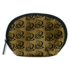 Abstract Swirl Background Wallpaper Accessory Pouches (medium)