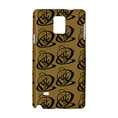 Abstract Swirl Background Wallpaper Samsung Galaxy Note 4 Hardshell Case