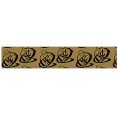 Abstract Swirl Background Wallpaper Flano Scarf (large)