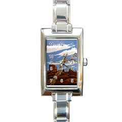 Acrylic Paint Paint Art Modern Art Rectangle Italian Charm Watch
