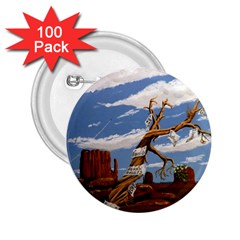Acrylic Paint Paint Art Modern Art 2 25  Buttons (100 Pack)