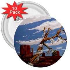 Acrylic Paint Paint Art Modern Art 3  Buttons (10 Pack)