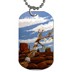 Acrylic Paint Paint Art Modern Art Dog Tag (two Sides)