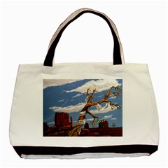 Acrylic Paint Paint Art Modern Art Basic Tote Bag (two Sides)