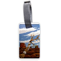 Acrylic Paint Paint Art Modern Art Luggage Tags (one Side)