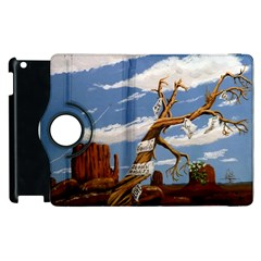 Acrylic Paint Paint Art Modern Art Apple Ipad 3/4 Flip 360 Case