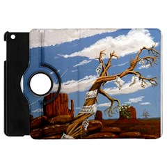 Acrylic Paint Paint Art Modern Art Apple Ipad Mini Flip 360 Case