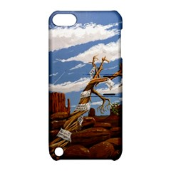 Acrylic Paint Paint Art Modern Art Apple Ipod Touch 5 Hardshell Case With Stand