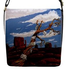 Acrylic Paint Paint Art Modern Art Flap Messenger Bag (s)