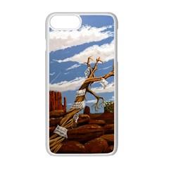 Acrylic Paint Paint Art Modern Art Apple Iphone 7 Plus White Seamless Case