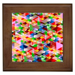 Background Abstract Framed Tiles