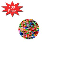 Background Abstract 1  Mini Buttons (100 Pack)