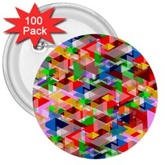 Background Abstract 3  Buttons (100 Pack)
