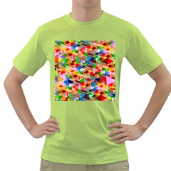 Background Abstract Green T Shirt