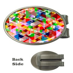 Background Abstract Money Clips (oval)