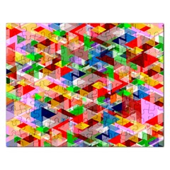 Background Abstract Rectangular Jigsaw Puzzl