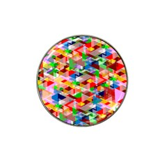 Background Abstract Hat Clip Ball Marker (4 Pack)
