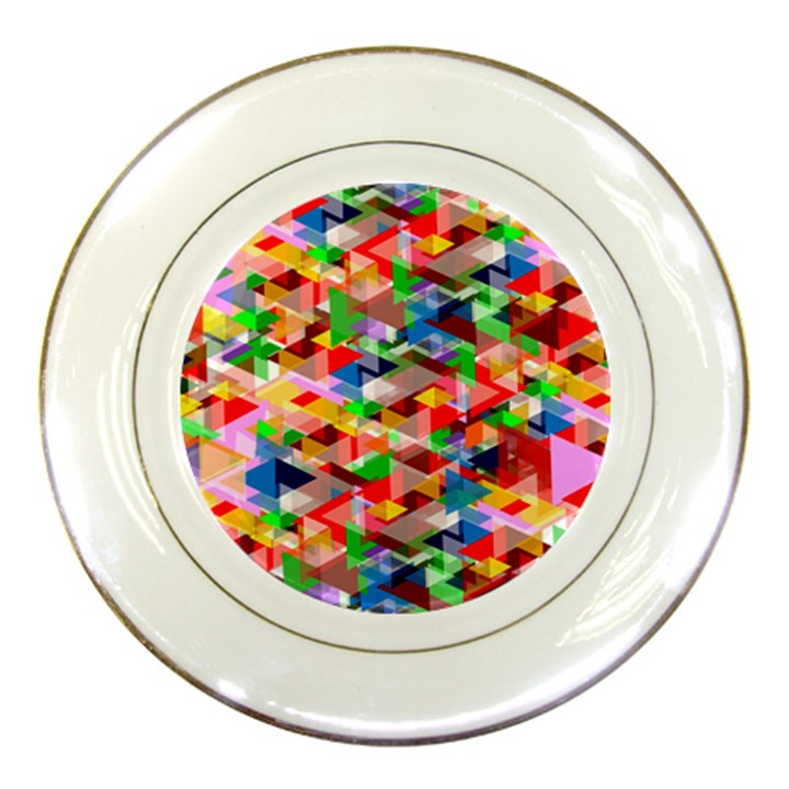 Background Abstract Porcelain Plates