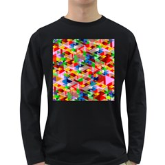 Background Abstract Long Sleeve Dark T Shirts