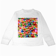 Background Abstract Kids Long Sleeve T Shirts