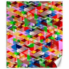 Background Abstract Canvas 8  X 10
