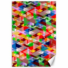 Background Abstract Canvas 24  X 36