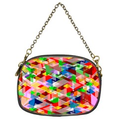 Background Abstract Chain Purses (two Sides)