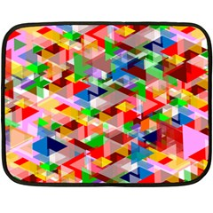 Background Abstract Fleece Blanket (mini)
