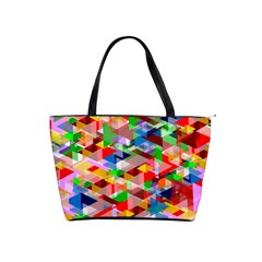 Background Abstract Shoulder Handbags