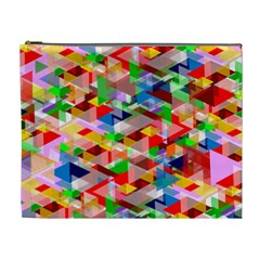 Background Abstract Cosmetic Bag (xl)