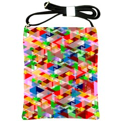 Background Abstract Shoulder Sling Bags