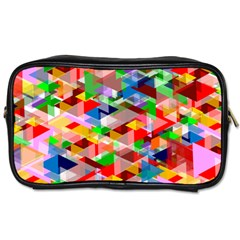 Background Abstract Toiletries Bags 2 Side
