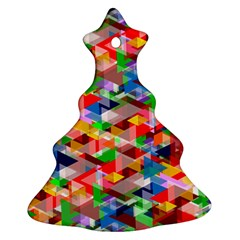 Background Abstract Ornament (christmas Tree)