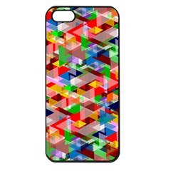 Background Abstract Apple Iphone 5 Seamless Case (black)