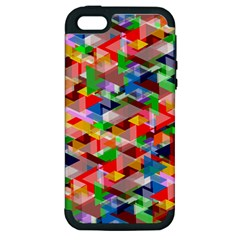 Background Abstract Apple Iphone 5 Hardshell Case (pc+silicone)