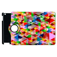 Background Abstract Apple Ipad 2 Flip 360 Case