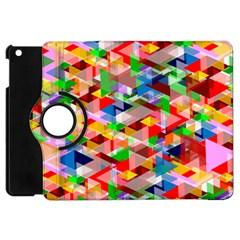 Background Abstract Apple Ipad Mini Flip 360 Case