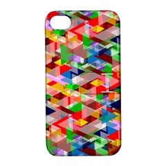 Background Abstract Apple Iphone 4/4s Hardshell Case With Stand