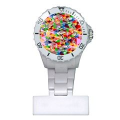 Background Abstract Plastic Nurses Watch