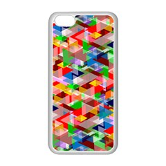 Background Abstract Apple Iphone 5c Seamless Case (white)