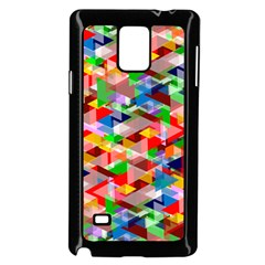 Background Abstract Samsung Galaxy Note 4 Case (black)