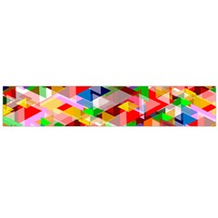 Background Abstract Flano Scarf (large)
