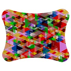 Background Abstract Jigsaw Puzzle Photo Stand (bow)