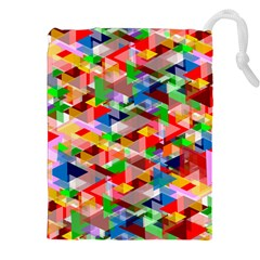 Background Abstract Drawstring Pouches (xxl)