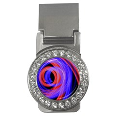 Background Blue Red Money Clips (cz)