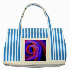 Background Blue Red Striped Blue Tote Bag