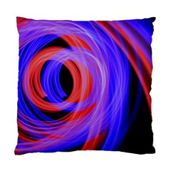Background Blue Red Standard Cushion Case (two Sides)