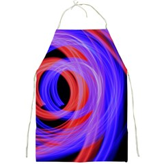 Background Blue Red Full Print Aprons