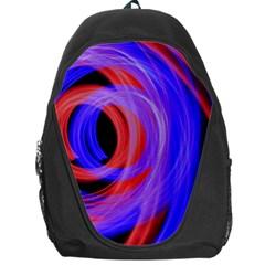 Background Blue Red Backpack Bag